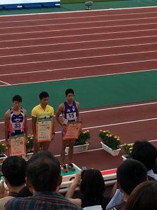 野澤 啓佑 成年男子  400mハードル 8位