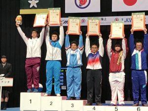 沢登健太郎 少年男子 105㎏級スナッチ 1位 沢登健太郎 少年男子 105㎏級クリーン&ジャーク 1位
