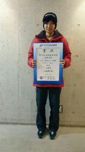 8位入賞小佐野梓選手