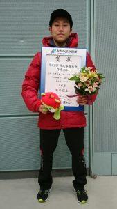 第1位 塩川弦太選手