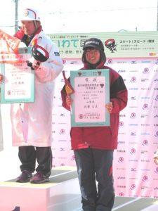 少年女子3000m 北原選手