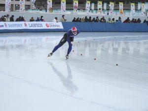 成年男子1500m 羽田光希選手