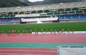 陸上競技 少年男子B3000m決勝