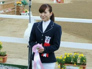 馬術競技 成年女子 トップスコア 萩原選手