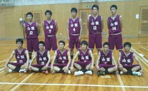 バスケットボール競技 少年男子