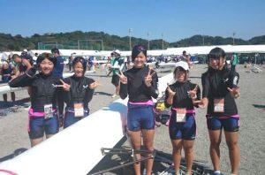 ボート競技 少年女子