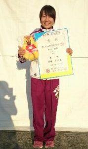 カヌー競技 少年女子 渡邊選手