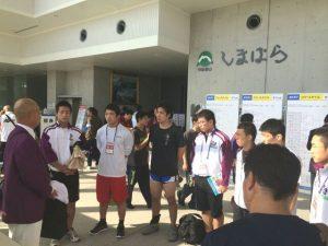 レスリング競技 成年男子と少年男子