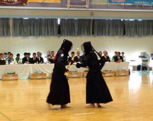 銃剣道競技 成年男子