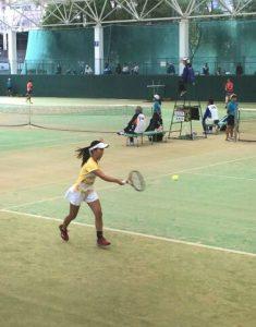 テニス競技 成年女子
