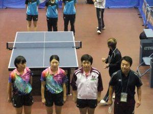 卓球競技 少年女子