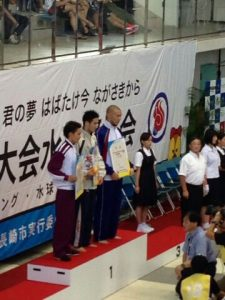 水泳競技:江原 騎士 選手