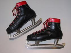 ホッケー用スケート靴写真